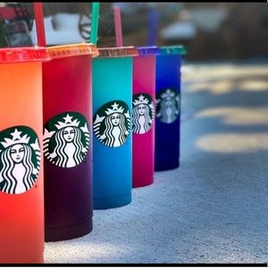 Starbucks 2020 LE Color Changing Cups NWT